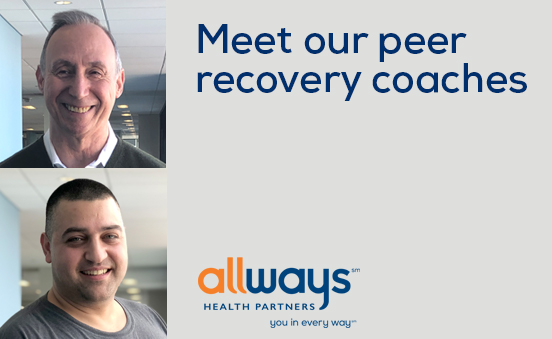 Peer recovery coaches